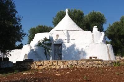 TRULLO IN THE BEAUTIFUL COUNTRYSIDE OF CAROVIGNO, APULIA