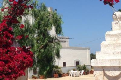 ANTIQUE MASSERIA WITH FRANTOIO AND CAVES IN FASANO, APULIA