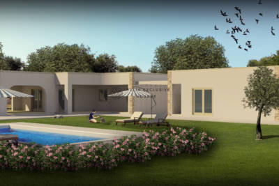 SEA VIEW VILLA WITH POOL UNDER CONSTRUCTION CAROVIGNO