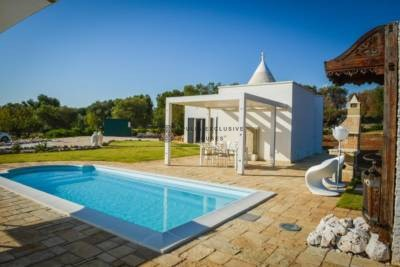 TRULLO ANIMA – TRULLO WITH POOL – CAROVIGNO