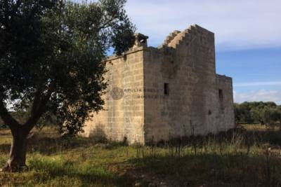 OLD COUNTRYHOUSE FOR SALE IN CAROVIGNO APULIA