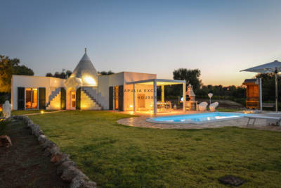 BEAUTIFUL TRULLO WITH POOL IN CAROVIGNO APULIA