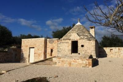 TRULLO WITH EXPANSION FOR SALE IN ALBEROBELLO, APULIA
