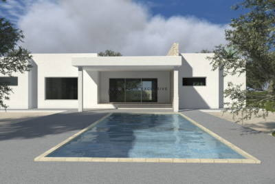 VILLA WITH POOL TO BE REALIZED – CAROVIGNO