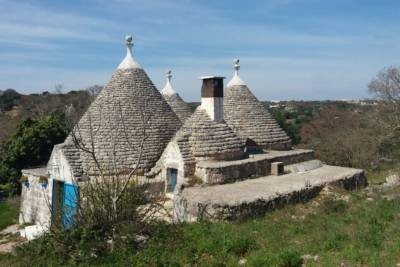 RESTORED PANORAMIC TRULLI COMPLEX – OSTUNI