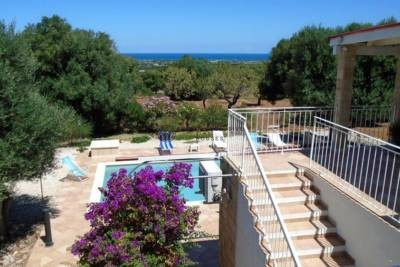 SEA VIEW VILLA WITH POOL FOR SALE IN CAROVIGNO PUGLIA