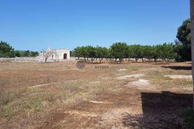 ANTIQUE STONE TRULLO AND LAMIA – OSTUNI PUGLIA