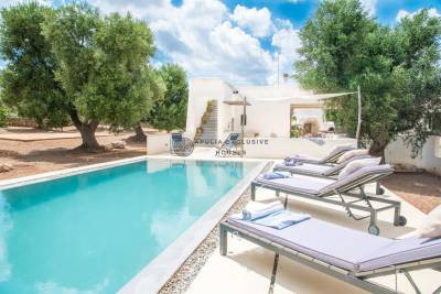 CASA LILOUDOU – LUXURY VILLA WITH POOL IN CAROVIGNO