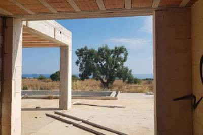SEA VIEW VILLA WITH POOL TO BE COMPLETED | Carovigno