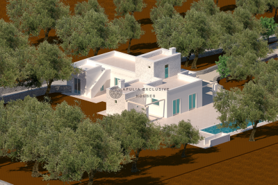 STONE FARMHOUSE WITH POOL IN OSTUNI