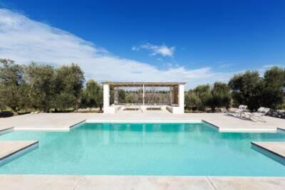 VILLA FRANCESCA | Elegante villa moderna con piscina in Puglia