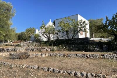 TRULLI AND LAMIA WITH PANORAMIC VIEW   in Itria Valley